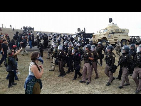 Police Attack NoDAPL Protesters At Standing Rock