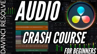 davinci Resolve 16 Audio Tutorial: How to Record a Voice Over