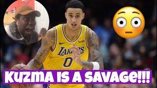 KUZMA DROPPED 40 POINTS!!! LA Lakers vs. Philladelphia 76ers Highlight Reactions