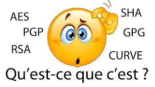 AES RSA PGP GPG SHA - Qu