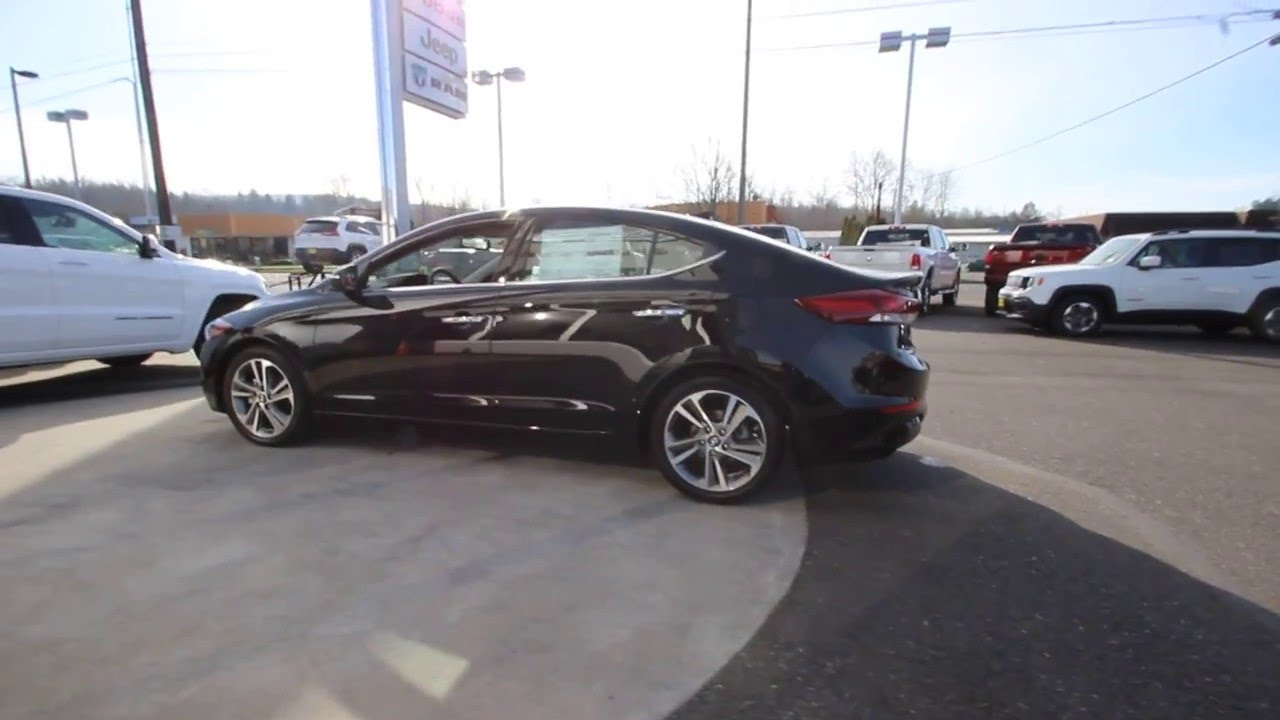 2017 Hyundai Elantra Black Hh012451 Skagit County Mt Vernon You