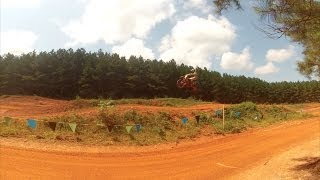 Durhamtown mx 4 crash