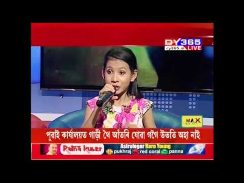 Nikita boro in dy365  singing (bodo song) rising star || hj music