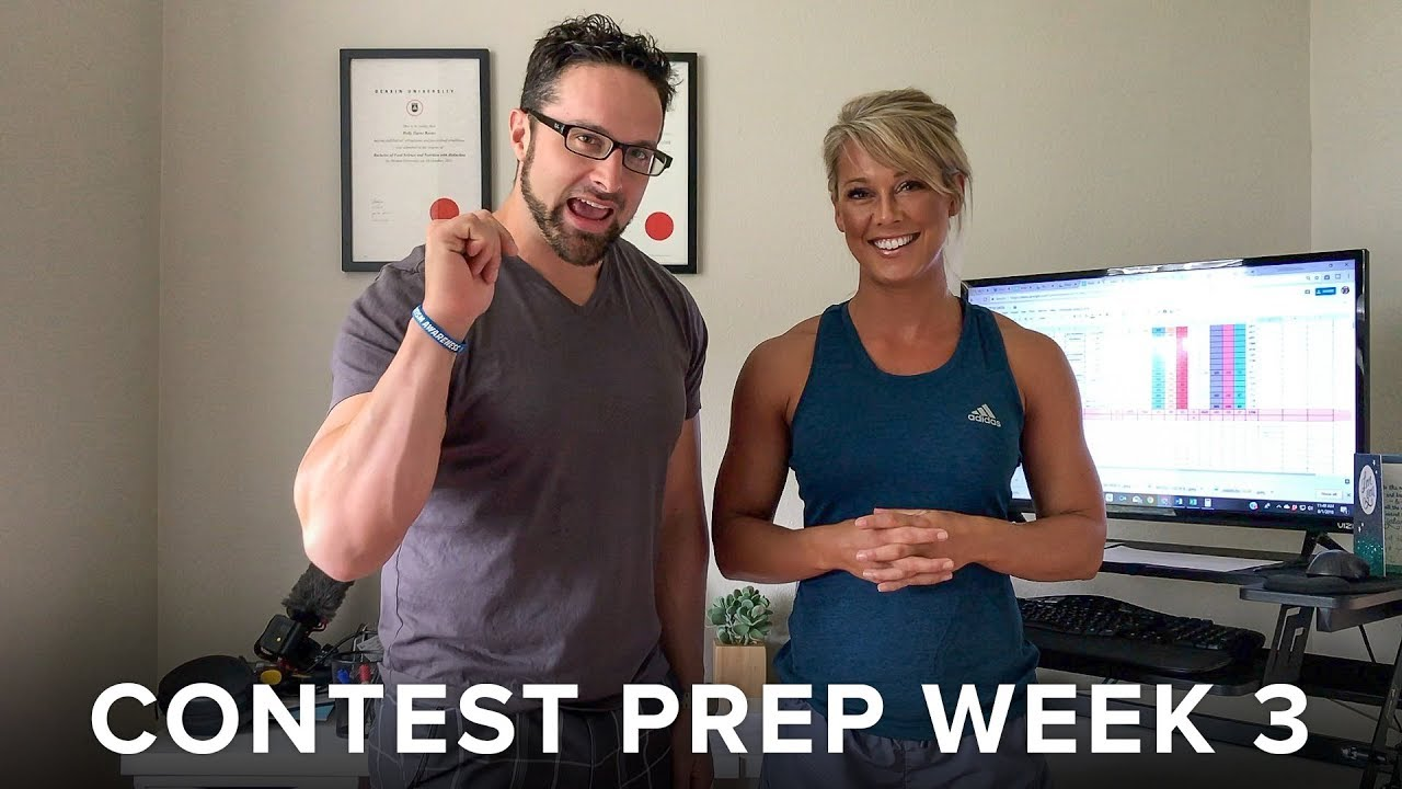 How to set up for a Contest Prep - Week 3 - By APD. Holly Baxter & Dr. Layne Norton