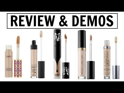 HIGH END CONCEALER BATTLE | 5 HIGH END REVIEWS AND DEMOS