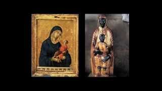 The Black Madonna is Istar and Baby Nimrod