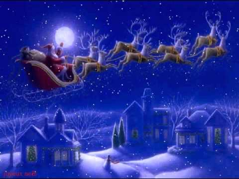 Traineau du pere noel youtube for Screensaver natale 3d