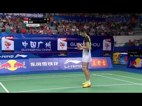 Video Bán kết giải cầu lông Vô Địch Thế Giới 2013  Li Xuerui vs Bae Yeon Ju