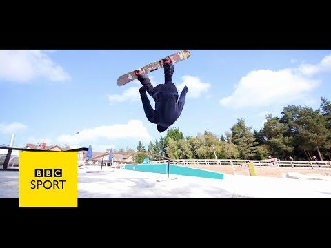 Jamie Nicholls And Tim Warwood Check Out The UK Dryslope Scene - BBC Sport