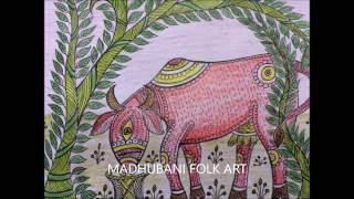 HOW TO DRAW SIMPLE MADHUBANI ART