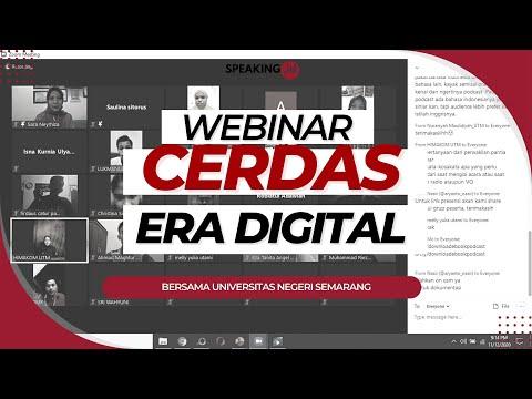 Seminar Online Literasi Digital Universitas Negeri Semarang