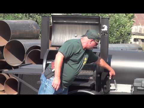 Gator Pit of Texas custom Falcon Smoker