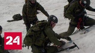 Спецназ Центрального военного округа покорил высокогорный хребет в Туве - Россия 24