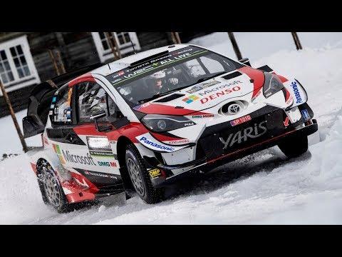 Tanak y Toyota fueron los mejores sobre la nieve - Rally de Suecia - WRC