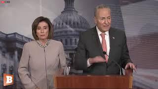 Nancy Pelosi, Chuck Schumer Discuss Trump's Proposed Budget