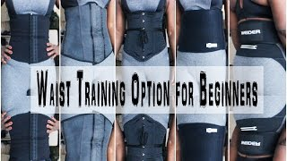 All about Waist Training belts, cinchers, corsets, etc for Beginners
