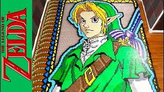 Link - Legend of Zelda Ocarina of Time (IN 54,609 DOMINOES!)