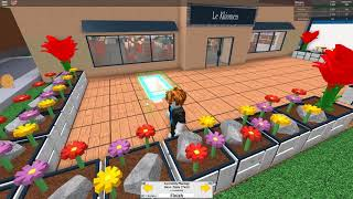 ROBLOX-Restauracyja from the outside also must look! /Restaurant Tycoon #6