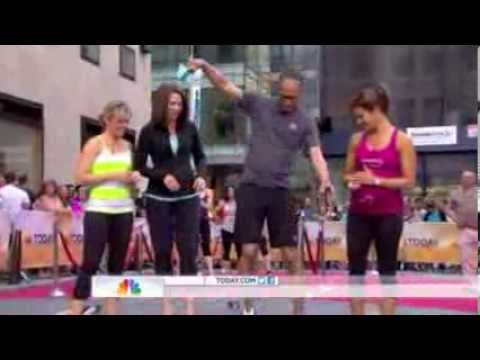Today show summer workout series jenna wolfe maternity workouts youtube