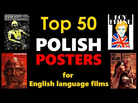 Top 50 Polish Posters for English Language Films (4K UHD)