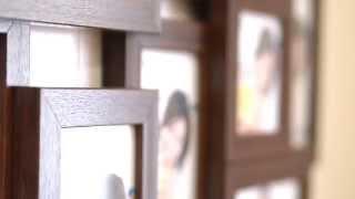Мультирамка Комбо на 8 фотографий цвет Венге