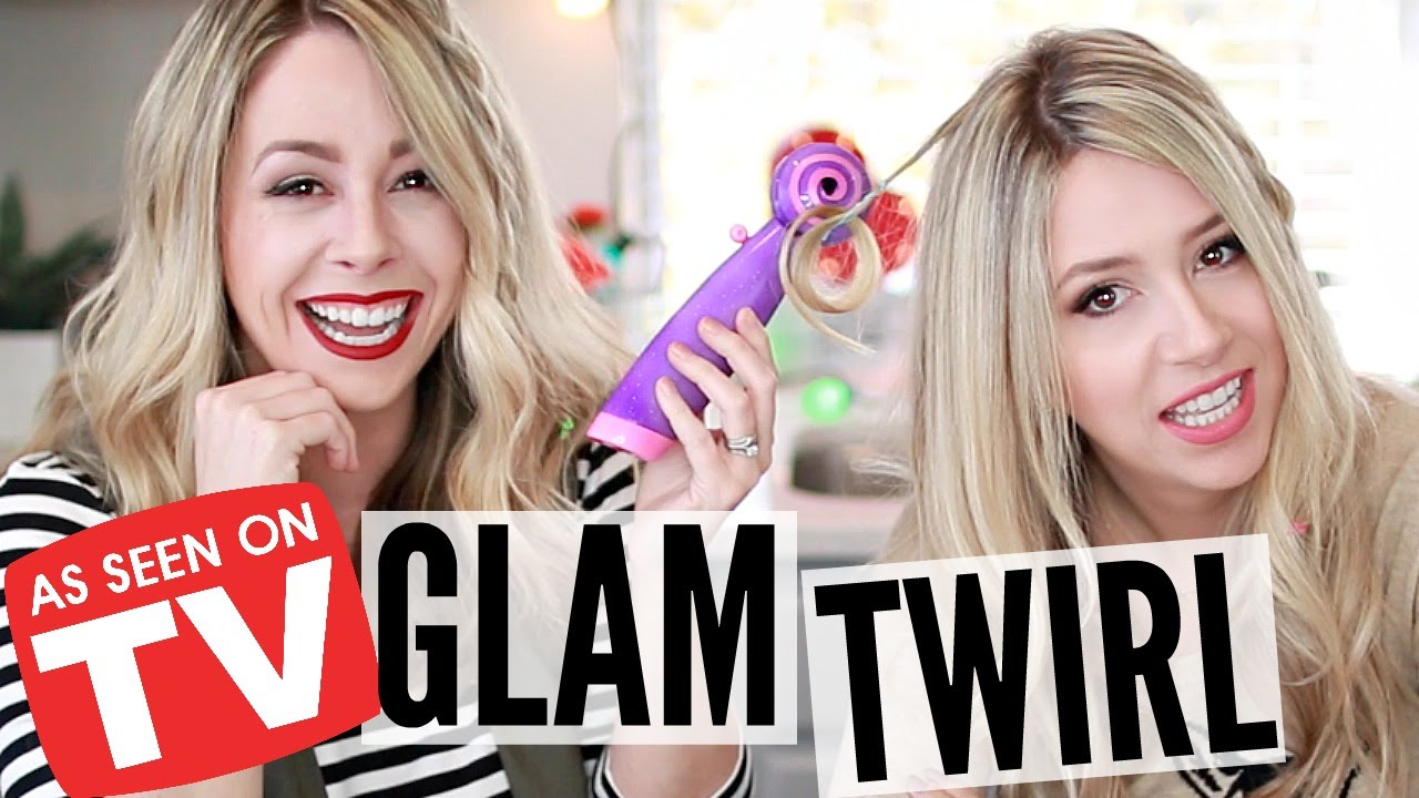 Testing As Seen On Tv Products Glam Twirl Youtube