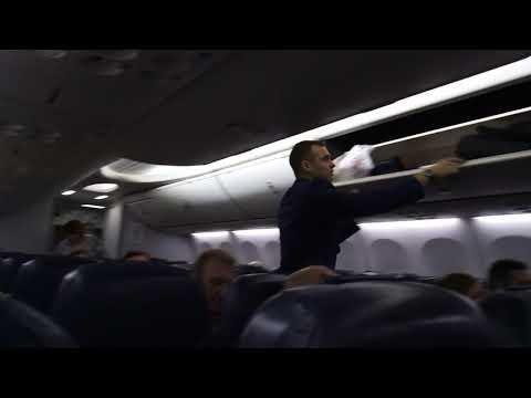Лечу авиакомпанией Победа / В салоне воздушного судна