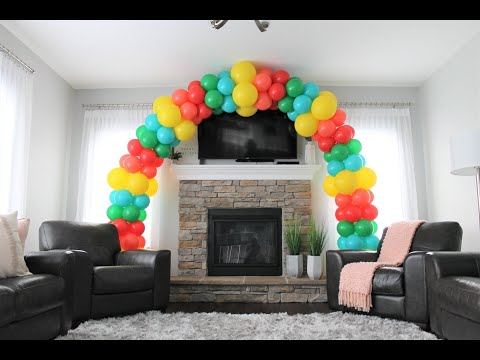 Simple Balloon  Arch DIY | How To | Tutorial