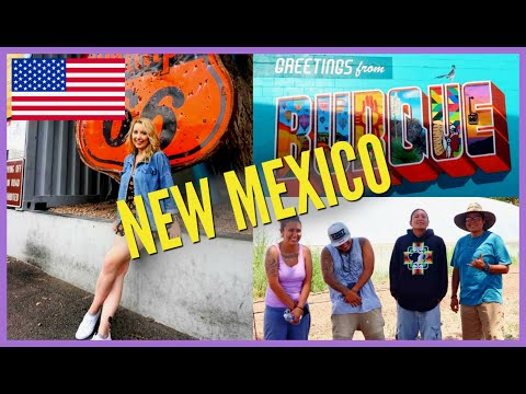 SCOTTISH GIRL'S FIRST TIME IN NEW MEXICO, USA | ALBUQUERQUE