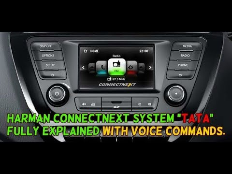 TATA Connectnext Infotainment System by HARMAN | With Voice Commands | All features explained.