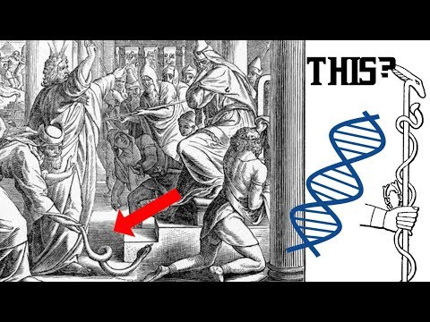 Moses' Snake Staff.... came alive... DNA? 80,000 year old Ancient Cloning tale?