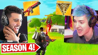 Showing Ninja Everything NEW in Season 4!