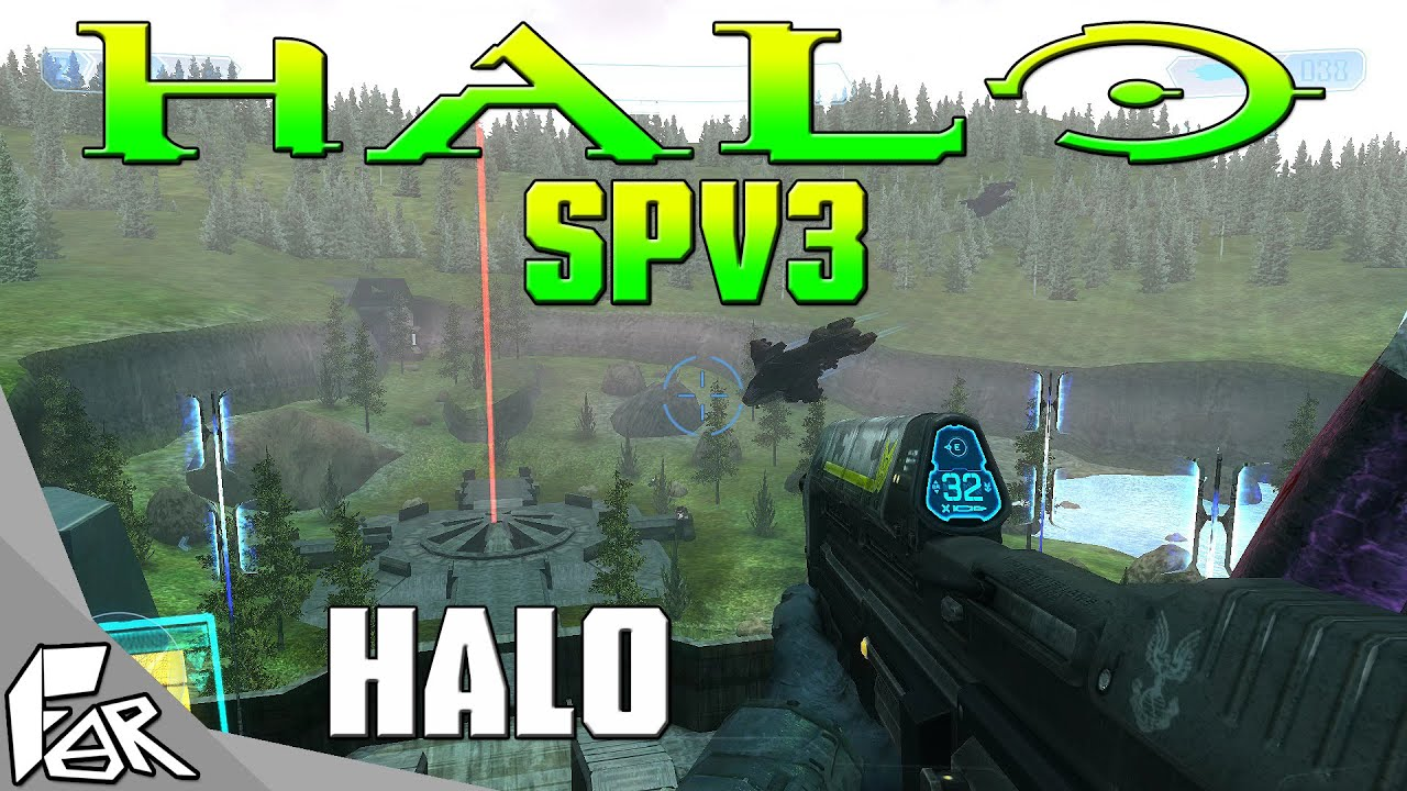 Halo SPV3 Mod Release Gameplay ➤ HALO (Free Download Below) - YouTube