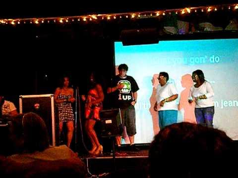 Carnival Ecstasy - Charles at Karaoke