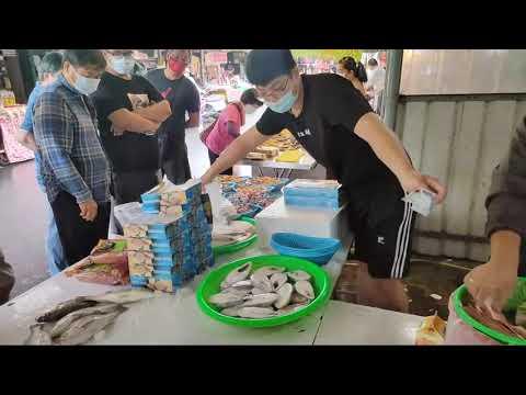 中彰海王子嘉義共和路海鮮叫賣直播0722