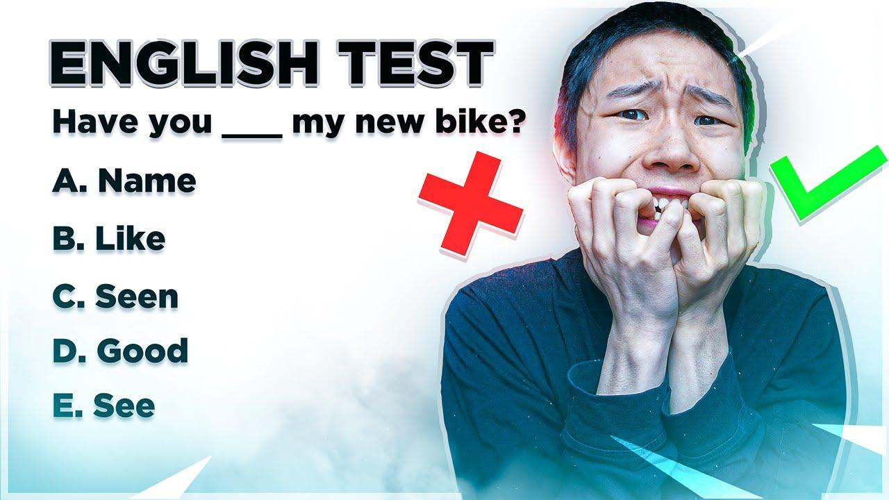 LAVER EN ENGELSK GRAMMATIK TEST!
