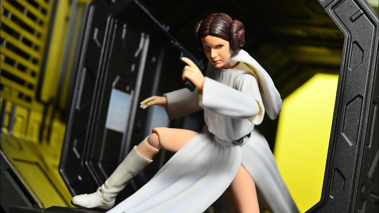 Bandai SH S.H Figuarts Star Wars Princess Leia Organa Hope A