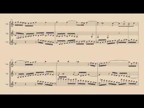 سیمفونیای شماره ۱ باخ Sinfonia No  1 BWV 787 Persianized