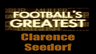 Clarence Seedorf - Footballs Greatest - Best Players in the World ✔