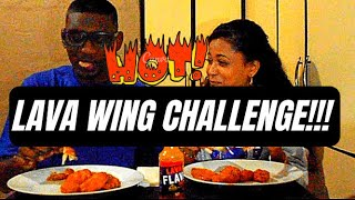LAVA HOT WING CHALLENGE *HILARIOUS REACTION*