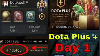 Dota Plus : Review after 1 day