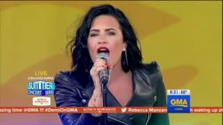 Demi Lovato - Confident Live on GMA 2016