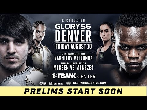 GLORY 56 Denver: Prelims