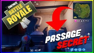 Secret Passage to Snobby Shores Fortnite Battle Royale