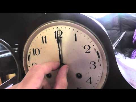 a look at a beautiful dual chime german mantle clock