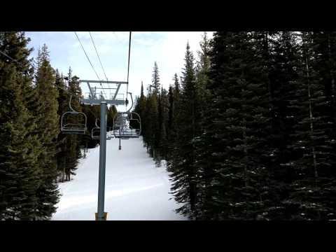 Skiing Discovery Basin Montana