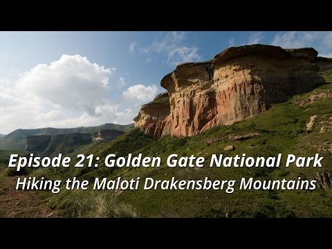 Golden Gate National Park - Hiking the Maloti Drakensberg Mountains