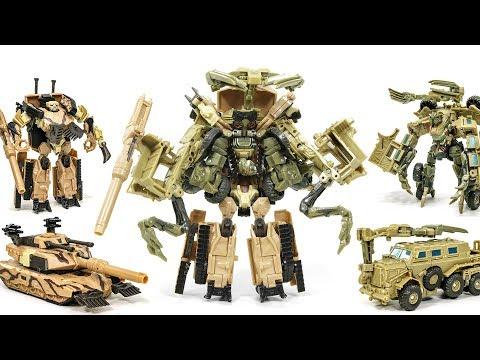 Transformers Decepticons Deluxe Bonecrusher + Brawl Combine Robot Vehicle Tank Car Toys