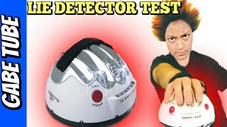 Top Toys SHOCKING LIAR LIE DETECTOR GAME Tell the TRUTH or Get Shocked Gabe Tube TV