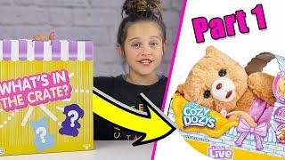 LITTLE LIVE PETS Cubbles The Bear | COZY DOZYS | New Toys Part 1